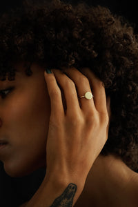 Independent – Brass & Silver Ring