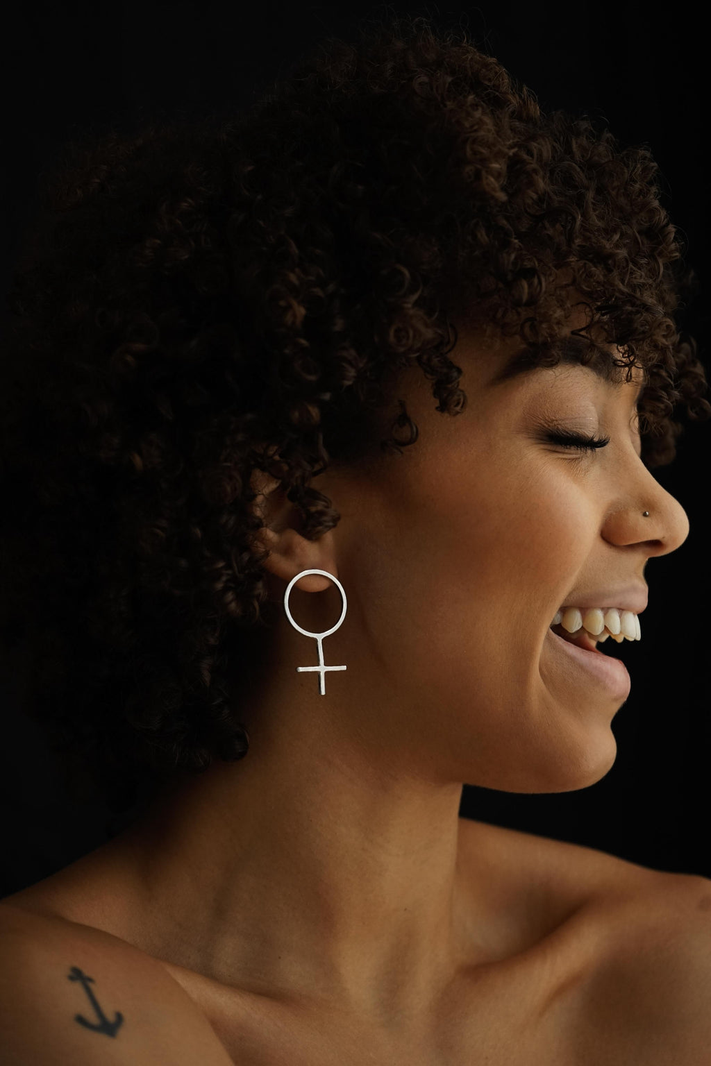 Feminist Power – Silver Earrings