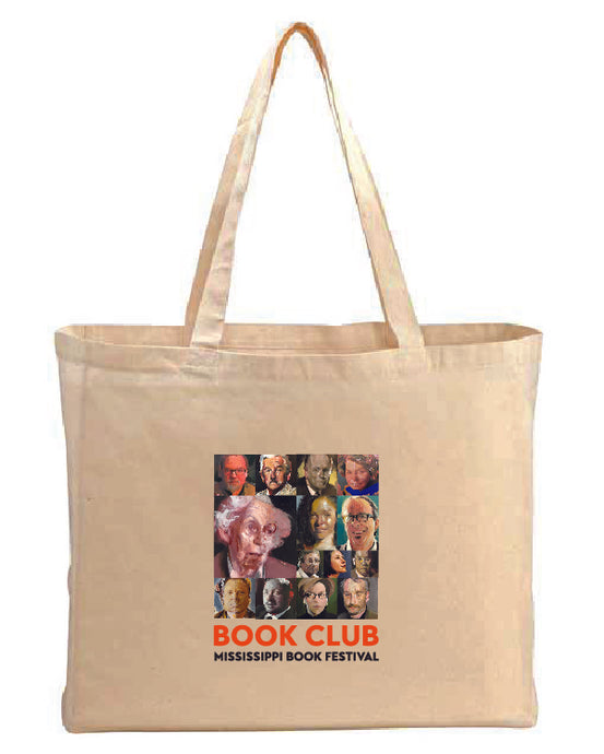 Literary Legends Canvas Tote Bag