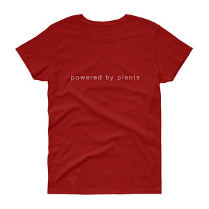 Powered By Plants Women's short sleeve t-shirt