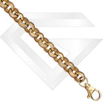 9ct UK Belcher Gold Chain / Bracelet (Gauge 6)