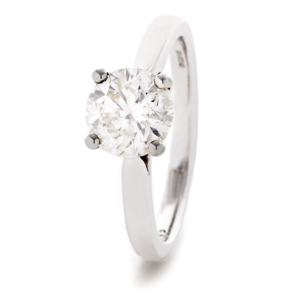 Classic Solitaire Engagement Ring 0.33ct