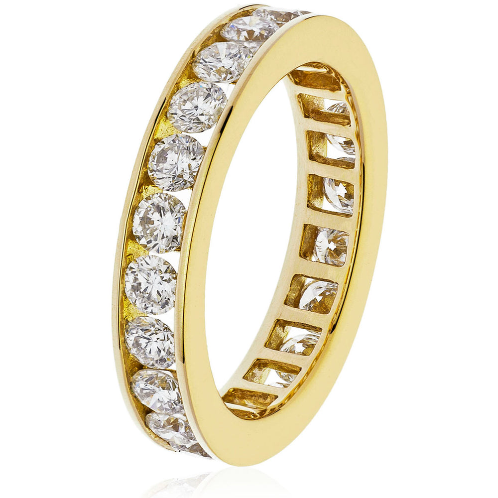 Channel Set Full Eternity Ring 2.00ct