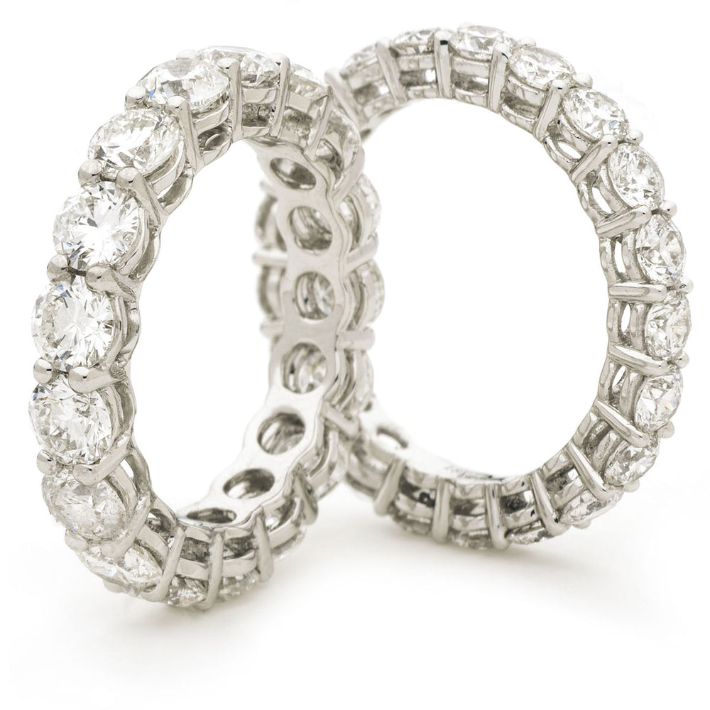 Shared Claw Full Eternity Ring 2.55ct