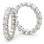 U Setting Full Eternity Ring 1.00ct