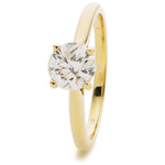 Tulip Engagement Ring 0.30ct