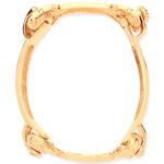 9ct Yellow Gold 4 Piece Bone Baby Bangle