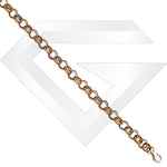 9ct UK Belcher Gold Chain / Bracelet (Gauge 1)