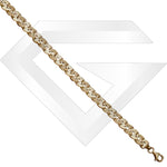 9ct Bali Gold Chain / Bracelet (Gauge 1)