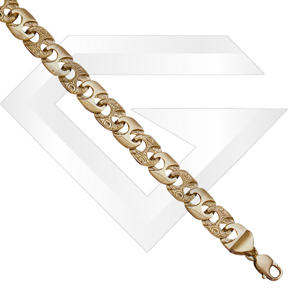 9ct Bali Gold Chain / Bracelet (Gauge 3)