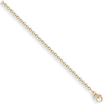 9ct Yellow Gold Round Belcher Chain