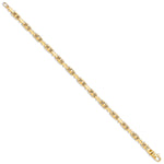 9ct Yellow Gold Faceted Ball Belcher Chain