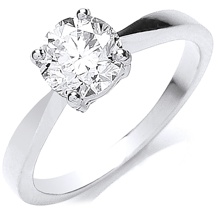 18ct White Gold 1.00ct Diamond Engagement Ring