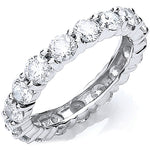 18ct White Gold 3.00ct Full Diamond Eternity Ring
