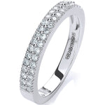 18ct White Gold 0.35ctw Diamond Eternity Ring