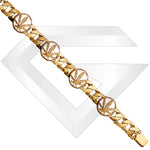 9ct Havana Gold Chain / Bracelet (Gauge 2)