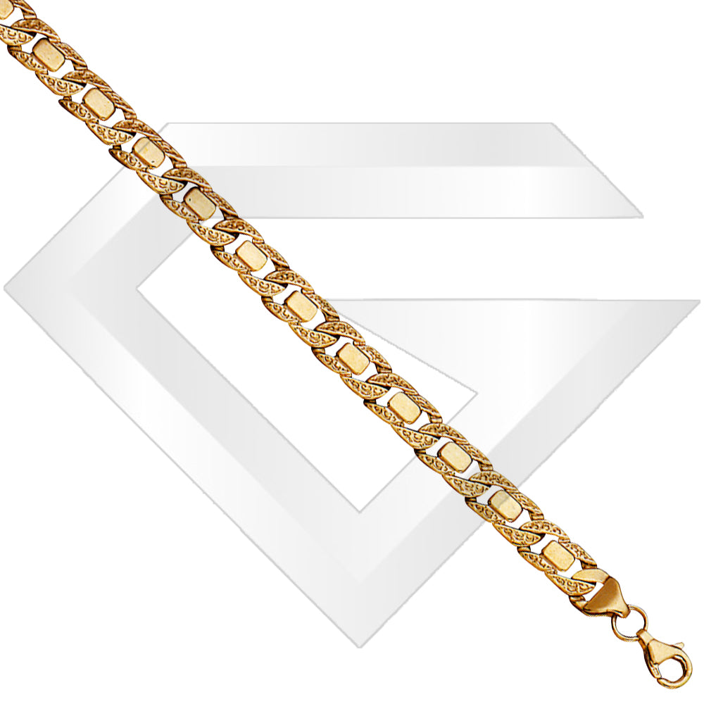 9ct Moscow Gold Chain / Bracelet (Gauge 1)