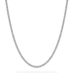 Straig Four Claw Tennis Chain 4.37ct