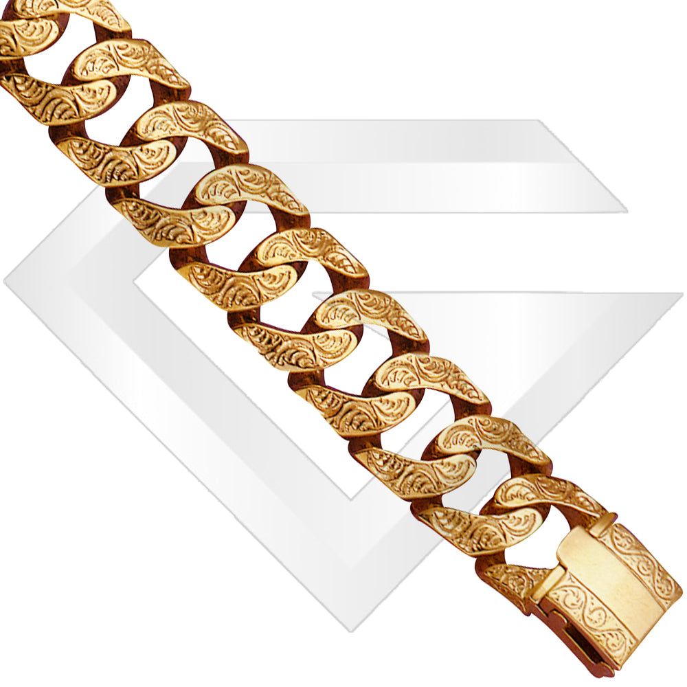 9ct New York XL Gold Chain / Bracelet