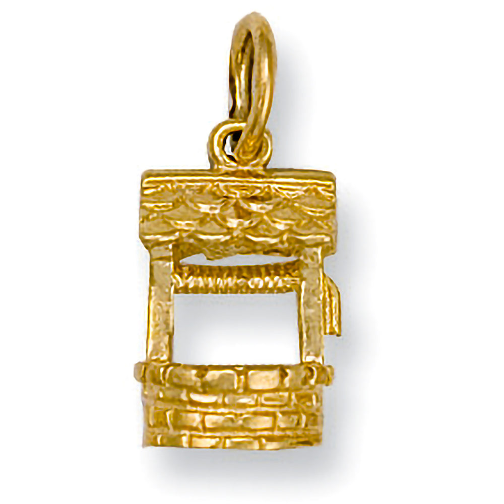 9ct Yellow Gold Well Pendant