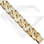 9ct Rangoon Gold Chain / Bracelet (Gauge 8)