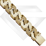 9ct Rangoon Gold Chain / Bracelet (Gauge 9)