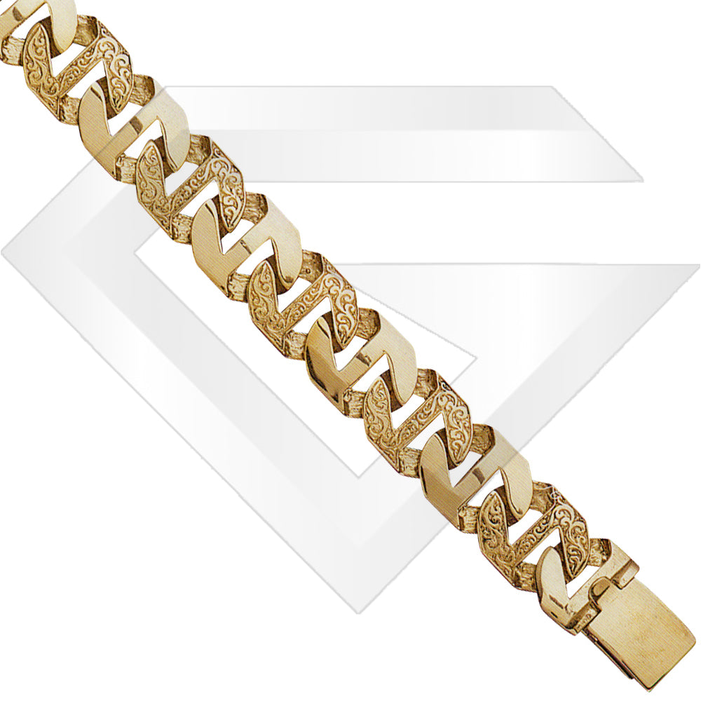 9ct Rangoon Gold Chain / Bracelet (Gauge 6)