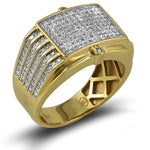 10KT Gents Diamond Ring 0.65ct