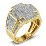 10KT Gents Diamond Ring 1.00ct