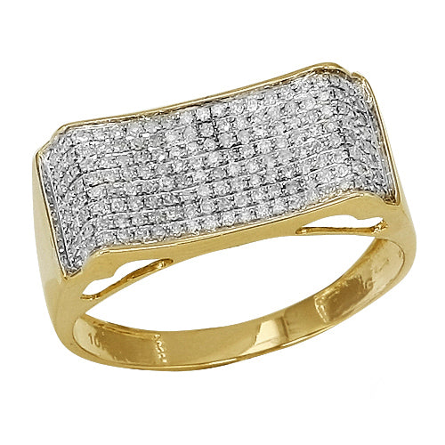 10KT Gents Diamond Ring 0.50ct