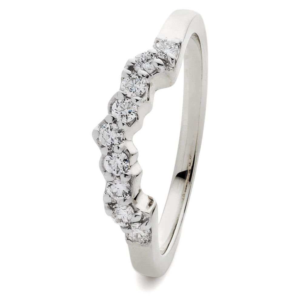 Wed Fit Wedding Band 0.25ct