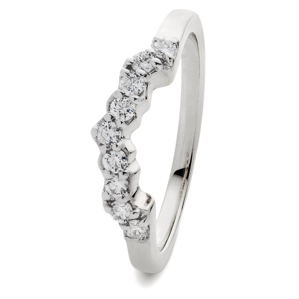 Wed Fit Wedding Ring 0.50ct
