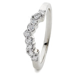 Shaped Wedding Band 1.00ct
