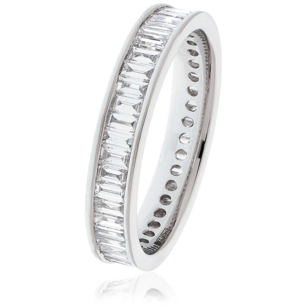 Baguette Cut Full Eternity Ring 1.15ct