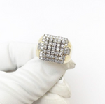 10ct Square Ring 1.08ct