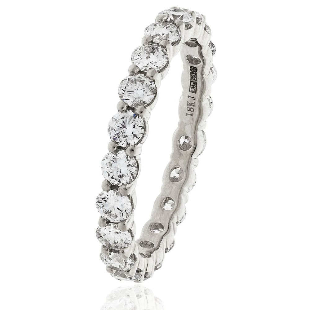 Shared Claw Full Eternity Ring 2.00ct