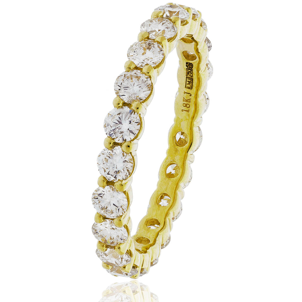 Shared Claw Full Eternity Ring 1.00ct