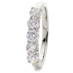 Five Stone Double Gallery Ring 1.00ct