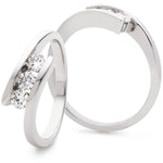 Crossover Trilogy Ring 0.33ct