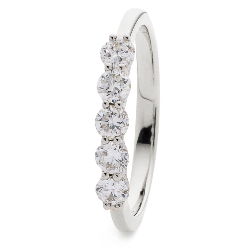 Five Stone Wedding Ring 2.00ct