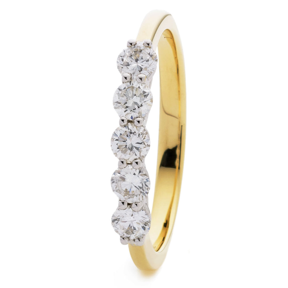 Five Stone Wedding Ring 3.00ct