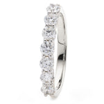 Pave Set Diamond Wedding Band 0.50ct