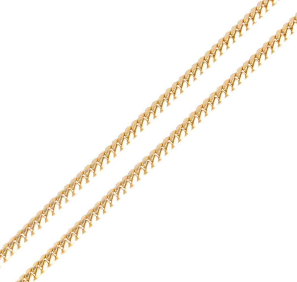 9ct 8mm Cuban Chain / Bracelet (Solid)