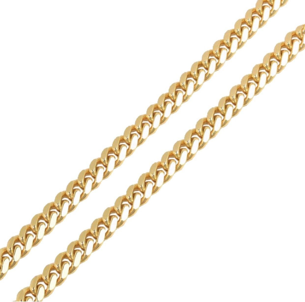 9ct 11mm Cuban Chain / Bracelet (Solid)