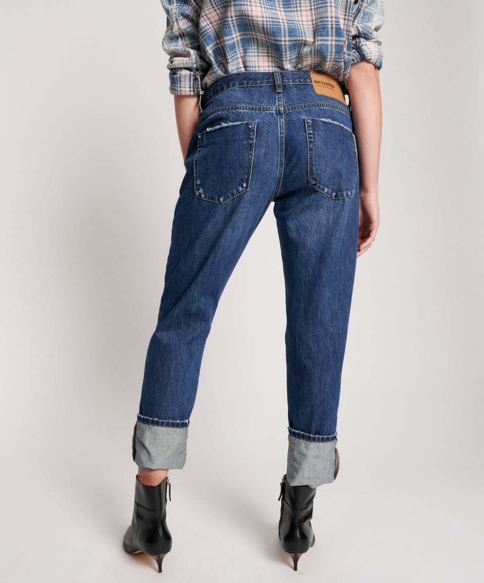 One Teaspoon Dakota Baggies Straight Leg Jean