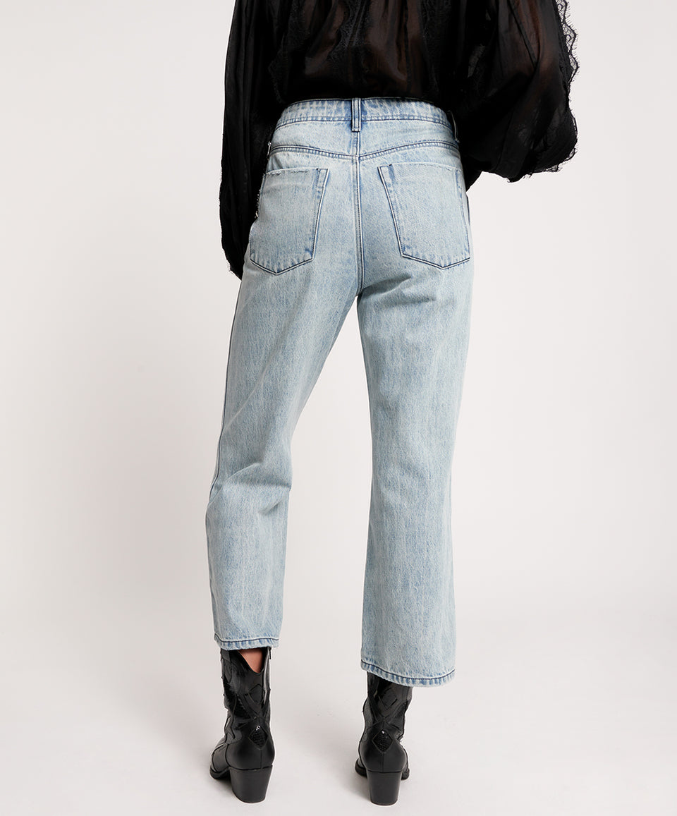 One Teaspoon Salty Dog Chained Nomad Mid Waist Vintage Fit Jean