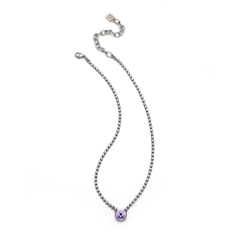 Dannijo Gem Necklace Violet