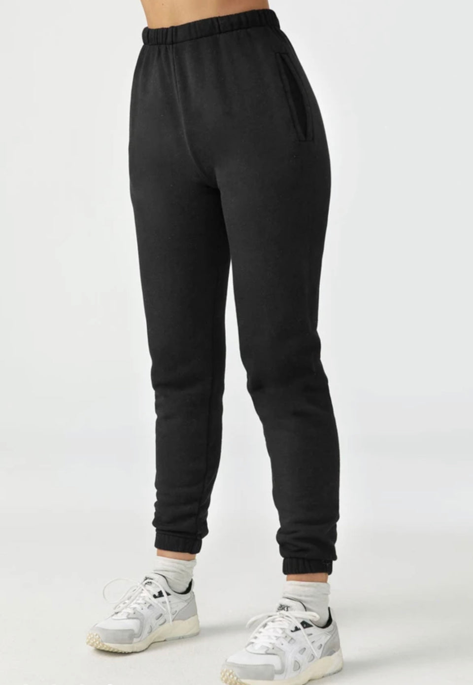 Joah Brown Empire Jogger Black French Terry