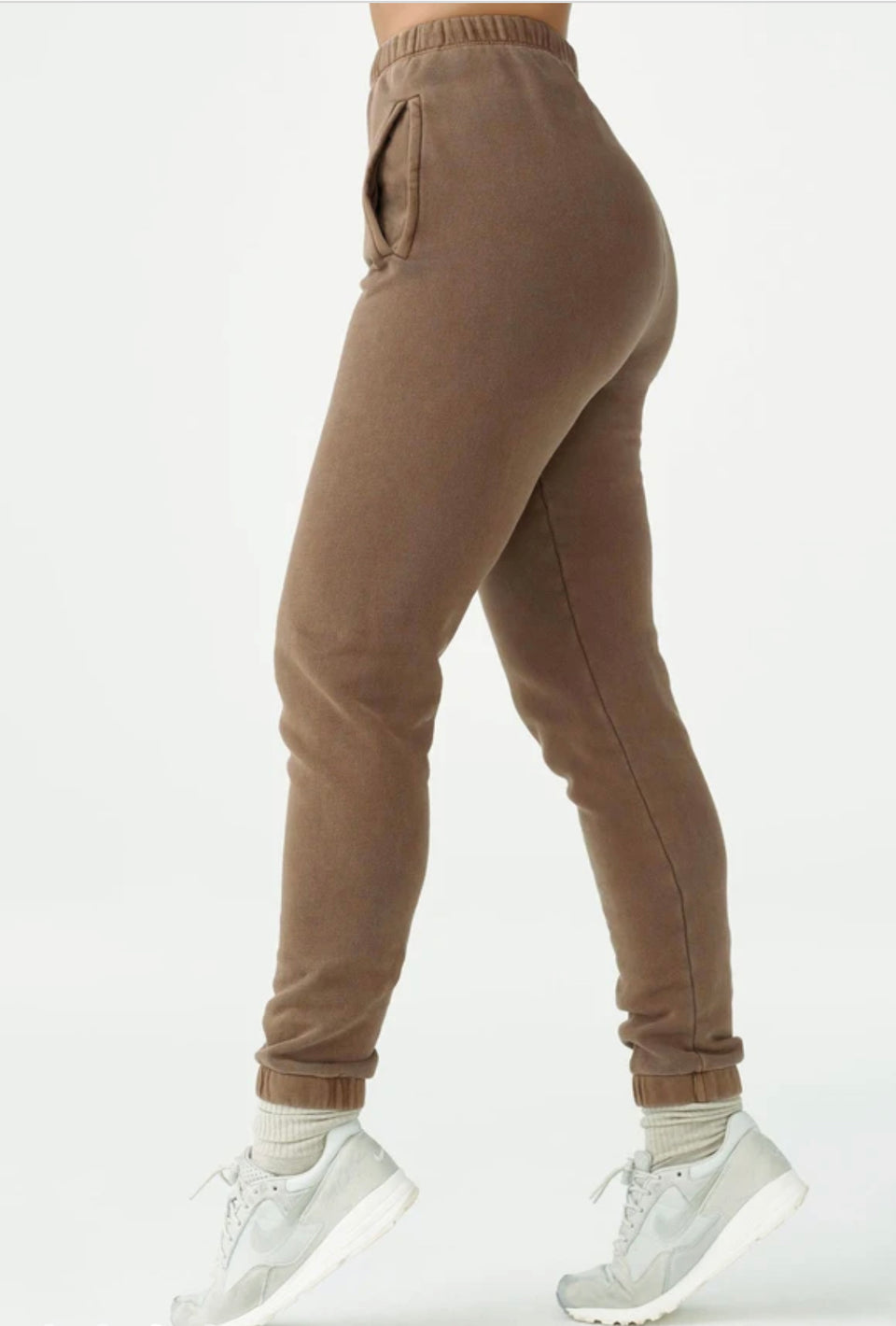 Joah Brown Empire Jogger Cocoa French Terry