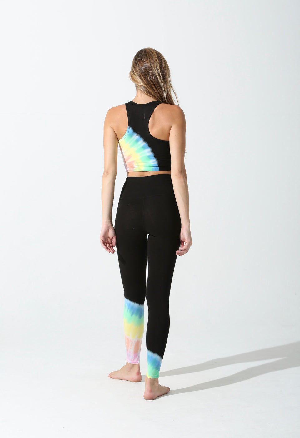 Electric & Rose Sunset Legging Beam Onyx/Rainbow